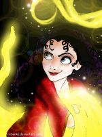 The dreams of Gothel by rebenke
