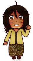 [HETAOC] Chibi Indonesia 4vol attempt by melonstyle