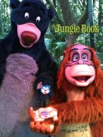 Baloo and King Louie by RockerDragonfly