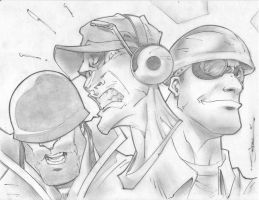 Team Fortress Sketchshot by StevenSanchez