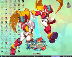 Megaman ZXA desktop by joe021093