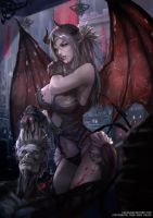 Blood Succubus by CGlas