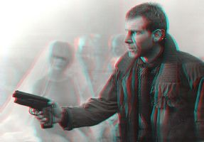 Deckard in 3-D by MVRamsey