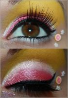 Pink Grapefruit Make Up by Talasia85