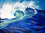 Big Wave Finished by jupiterjenny