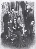 Addams Family by atergnetic