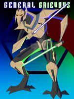 General Grievous- The Supreme Commander by 2ndMercWithAMouth