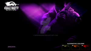 MGG - Black Ops 2  - PS3 Wallpaper PREVIEW ONLY by Msbermudez