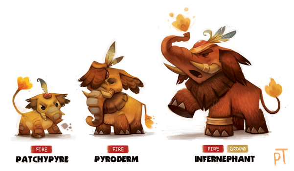 DAY 484. Fake Pokemon by Cryptid-Creations