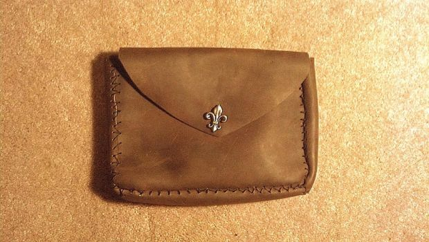Leather Pouch by neko-kokoru