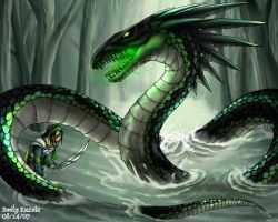 Toxic Serpent by Chewilicious
