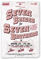 7 Brides for 7 Brothers Poster by legley