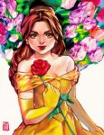 Belle by rianbowart