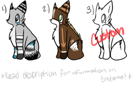 Adoptables -Closed- by Thaxen