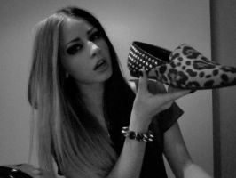 Leopard studded shoes! by charissadeville