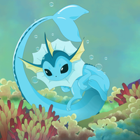 Vaporeon by peore