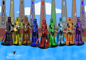 The Knights of Ultima Arc by DragonSnake9989