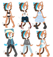   Light clothing ref   by toskurra