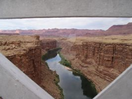 Colorado River, Through Bridge by Shancy