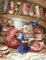 The Library by asiapasek