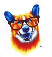 Corgi the Corgi by Leftblind