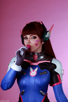 Overwatch - D.va by MilliganVick