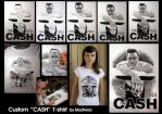 Custom CASH t-shirt by Vikrapuff
