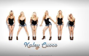Wallpaper - Kaley Cuoco by Guto-Kun