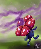 Vileplume used POISON POWDER by PyroFishies