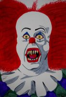"Pennywise ""IT"" by MisterSali"