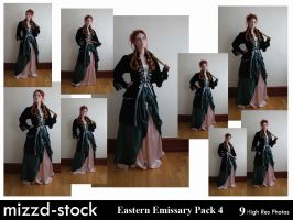 Eastern Emissary Pack 4 by mizzd-stock