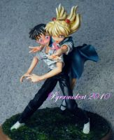 Asuka and Shinji Resin kit 2 by Pyramidcat