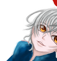 [K] WIP - Isana Yashiro color by HunterK