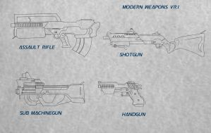 RAL ModernWeaponTest by allanral