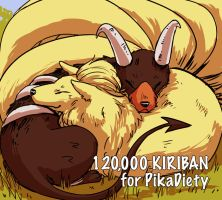 PKMN - 120,000 Kiriban by FerioWind