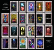 FNaF Tarot - Complete by PinkyPills