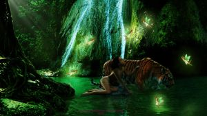 Emerald Forest by Branka-Johnlockian