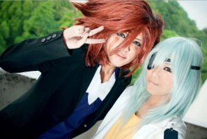 IE: Genda And Sakuma I by Kagami-Shiro