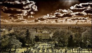 Paris Melancholia by SUDOR