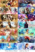 Disney Princess Project by AnnaD9