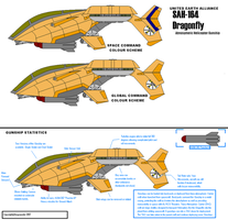 SAH 164 Dragonfly Gunship by fongsaunder