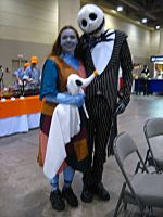 Jack And Sally TNMBC Cosplay by CelticMagician