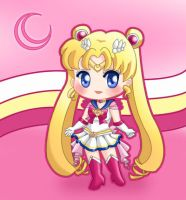 Super Sailor Moon by drewbiedooah