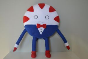Peppermint Butler Plush by SoftiesBehavingBadly
