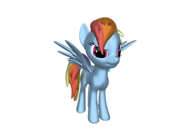 me in 3D by rainbowdashbrony13