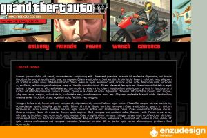 GTA journal css by EnzuDes1gn