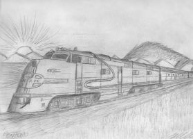 Santa Fe EMD E-Units by Zephyr303
