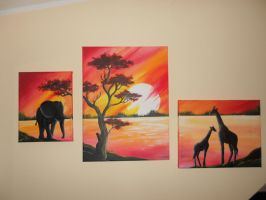 Africa Trilogy by Felina-Luciana
