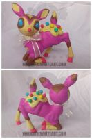 Cupcake the Deer by pai-thagoras