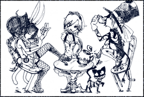 Mad Teaparty by Frog-of-Rock